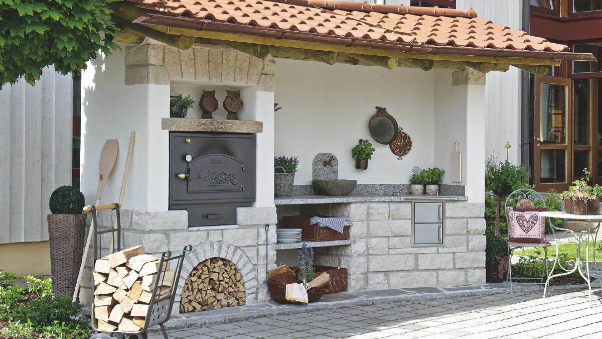 Outdoor Küchen : Backhäusle und outdoor küchen